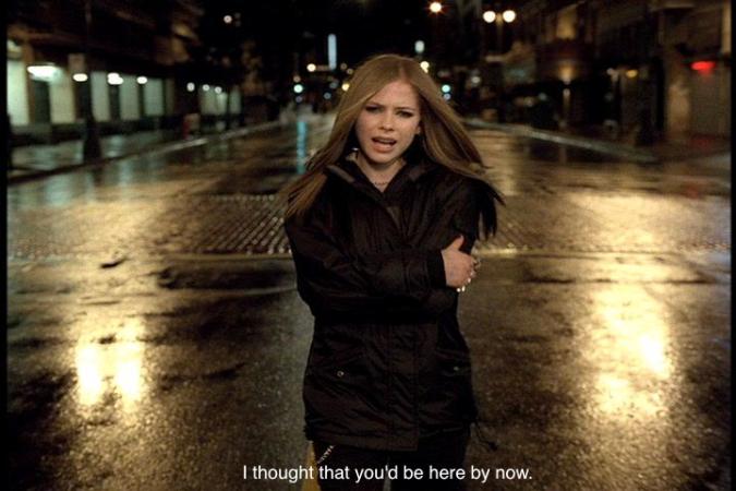 Avril-Lavigne-I'm-With-You-Meme