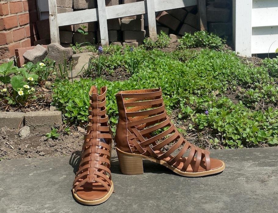 2fd7dcd243b0 Chunky Heel Gladiator Sandals ~ High Heel Sandals