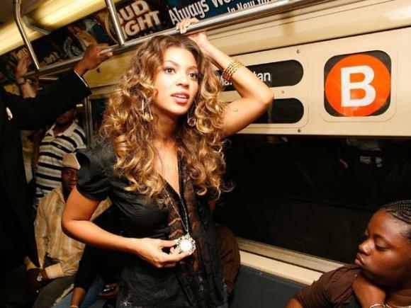 Beyonce-Subway