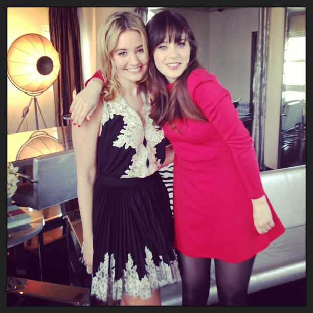 Kirbie and Zooey Insta