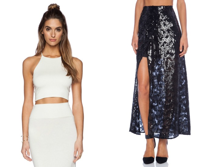 Recycled-Novelty-Vday-Style-Rachel-Pally-Lissa-Top-and-Linda-Sequin-Slit-SKirt