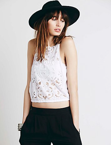 Recycled-Novelty-Free-People-Festival-Style-Womens-Dewa-Cutwork-Strappy-Tank