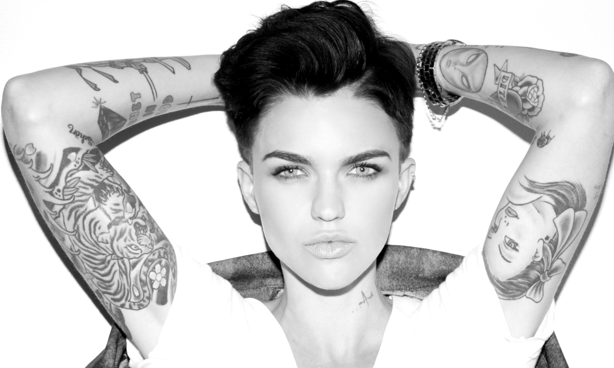 whitney black white. Spring Awakening: What Women\u0027s Obsession With Ruby Rose Says About Sexuality + Society In 2015 Whitney Black White